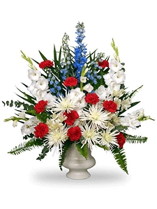 Patriotic Remembrance Urn