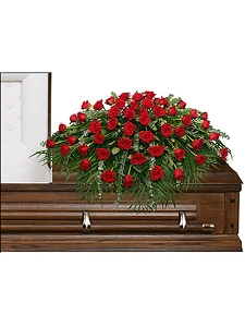 Majestic Rose Casket Spray