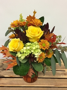 Autumn's Gems Bouquet
