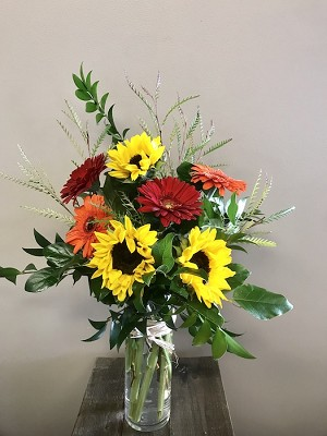Fall Color Burst Bouquet